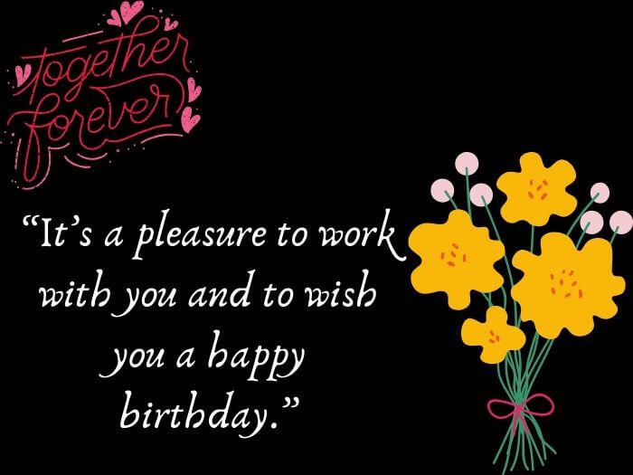 Employee Birthday Messages