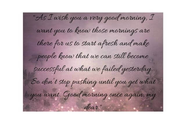 Good Morning Beautiful Quotes I Love You