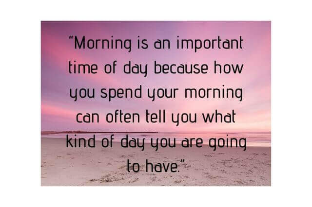 Good Morning Beautiful Quotes My Love