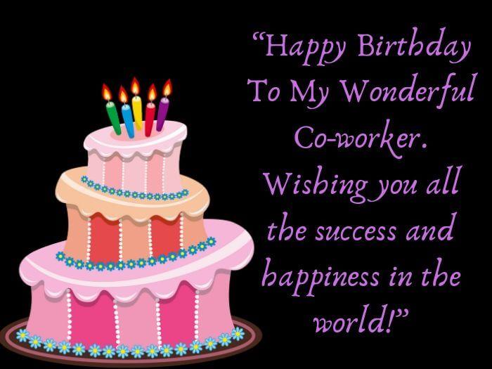 Happy Birthday Co Worker