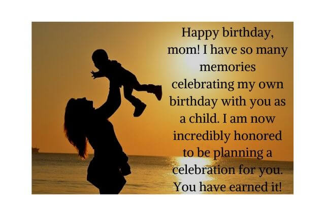 Happy Birthday Quotes for Mothers