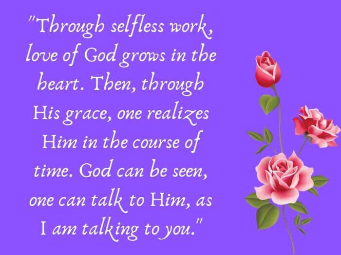 Ramakrishna Paramahamsa Quotes in English