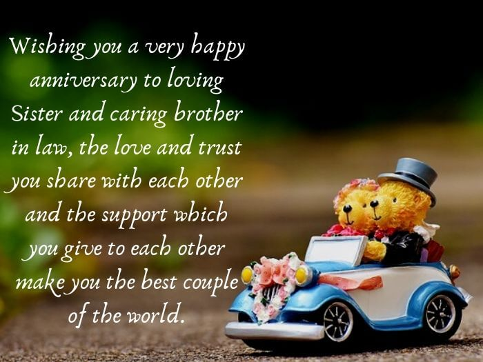 Wedding Anniversary Quotes for Sister