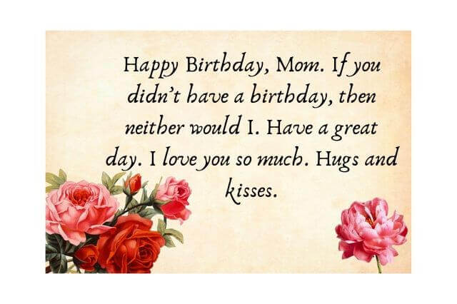 happy birthday mummy wishes