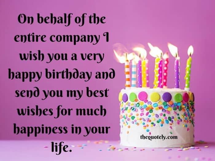 happy birthday to colleague