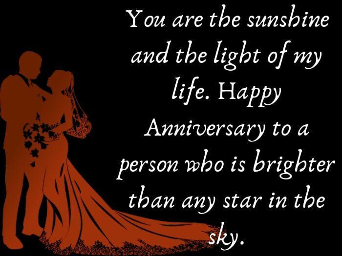 lines on wedding anniversary