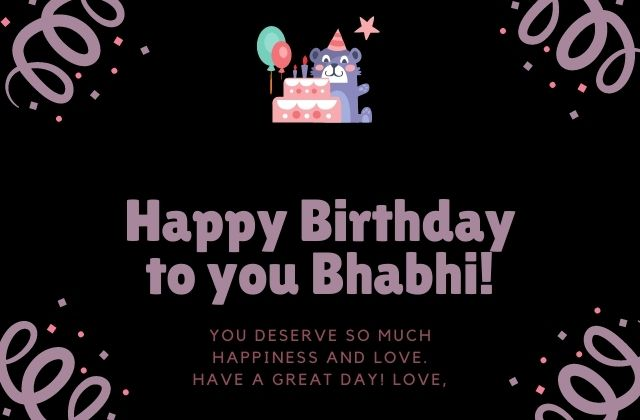 Happy Birthday Bhabhi Quotes