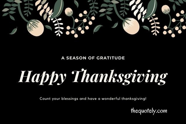 Happy Thanksgiving Wishes for Friends