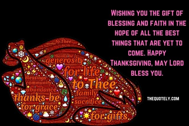Happy Thanksgiving Wishes to Friend