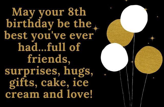8 th birthday