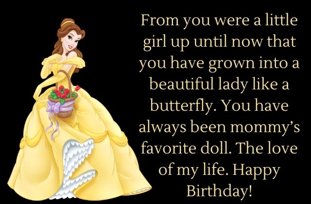 Birthday Wishes to Daughter from Mom