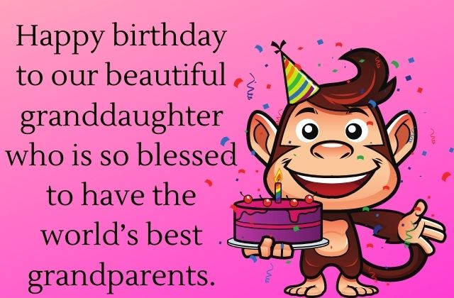 Funny Granddaughter Birthday Wishes