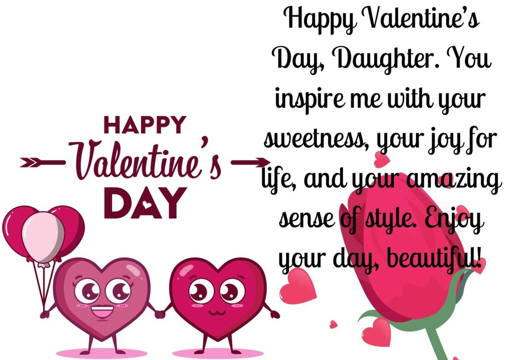 Valentines Day Quotes for Daughter