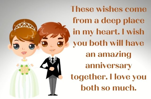 Wedding Anniversary Wishes for Couples