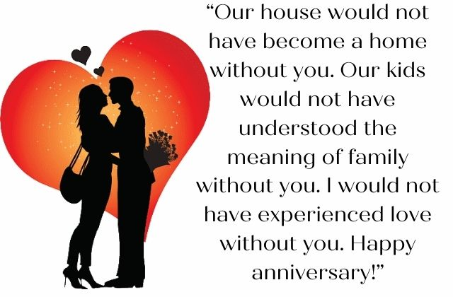 Wedding Anniversary Wishes for Wife