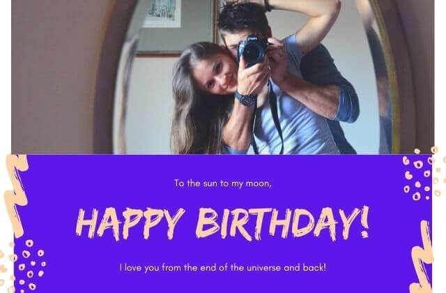 birthday text for girlfriend