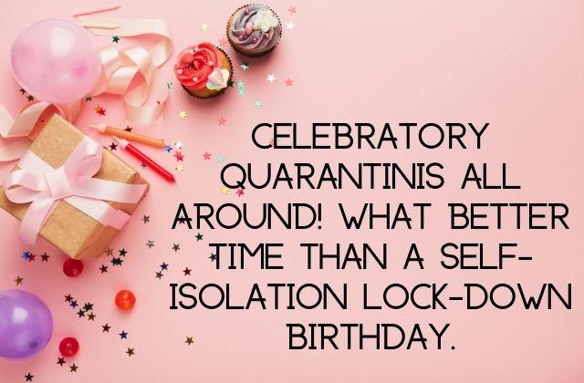covid birthday quotes