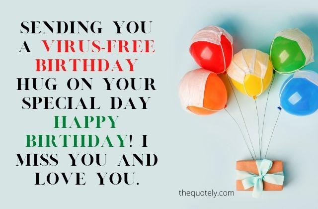 happy quarantine birthday