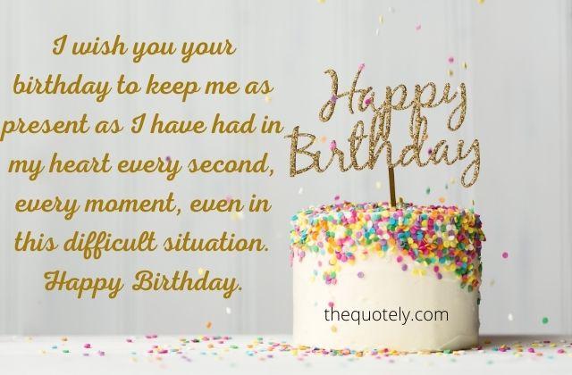lockdown birthday quotes